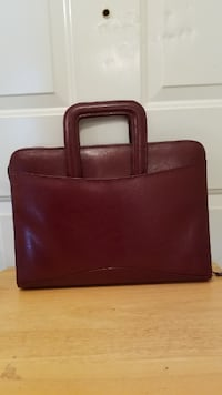 Bond St., Ltd. LEATHER Tablet-iPad ORG w/ Removable Ring Binder 1 owner (EXCELLENT CONDITION) Ringgold