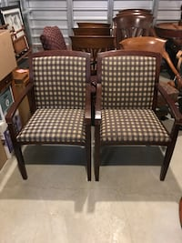 Pair matching chairs. Englewood, 80112