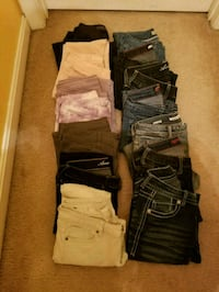 Skinny Jeans (14 pair) for girls Baltimore, 21244
