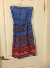 Beach/summer tube dress/ size S Pointe-Claire