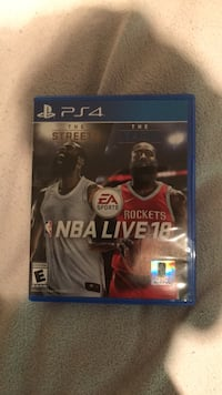 NBA live 18 basketball game for the PlayStation 4 Huntsville, P1H 1A4