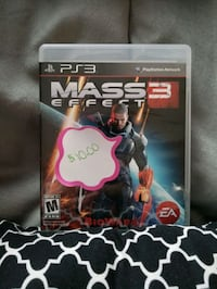 Mass Effect 3 PS3 New Bedford, 02746