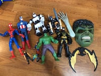 Avengers lot of toys + mask Matthews, 28105