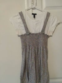 women's gray and black sleeveless dress Martinsburg