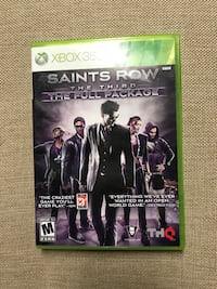Saints Row The Third The Full Package 2 Discs With Instruction Booklet For XBOX 360 Tested & Works Louisville, 40213