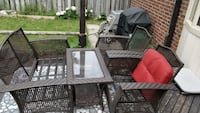 4 piece patio set - includes cushions, storage bin and cover. Brampton, L6Y 3H3