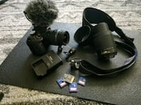 Nikon DSLR 3300 and LOTS of accessories.  Inglewood, 90301