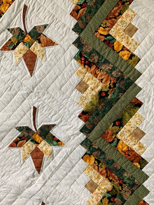 Fall themed authentic quilt  5e88dd46-78d8-445d-8fe7-8aee52d96f18