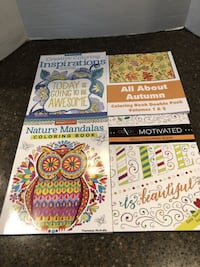 Lot of 4 Brand New Adult Coloring Books $3 For All Manassas, 20112