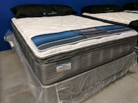 Simmons Queen Luxury Pillowtop Mattress Bakersfield, 93314