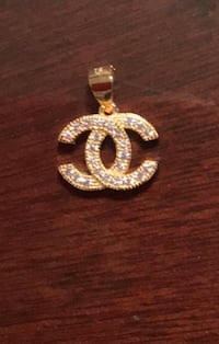 Chanel inspired 925 sterling silver gold or white gold plated