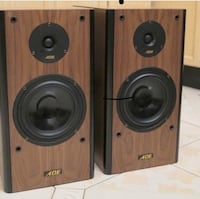 ADE German 2 way quality speakers like new  Toronto, M5V 2X5