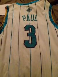 Hornets jersey tags on  New Orleans, 70127