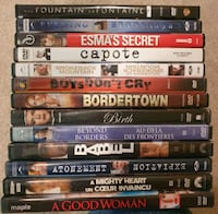 DVD Movie Lot 3 - Drama Calgary, T2Z 4W6