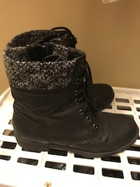 Size 7 Leather Boots  London, N5W 1X9