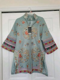 Embroidered Chinese Jacket Vancouver, V5M 2Y7