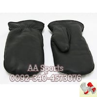 Tufi leather Gloves, mittens, mitts, touch screen, gloves, fur, lined Sialkot