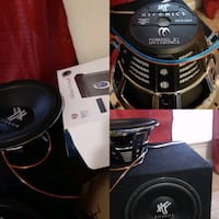 I have two 12inch subwoofer like new