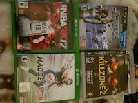 Xbox one and PlayStation 3 games