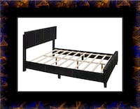 Queen bed platform bed with mattress Ashburn