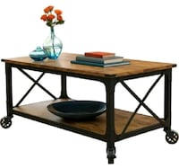 """BHG Rustic Country Coffee Table for TVs up to 42"""" Houston, 77042"""