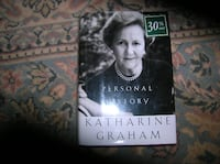Book on Katherine Graham Springfield