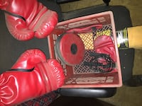 pair of red-and-black boxing gloves Brampton, L6P 2C4