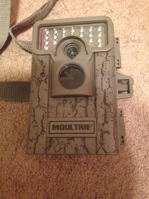 brown Moultrie trail camera
