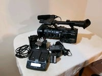 black Canon DSLR camera with lens Brampton, L6R 2G8