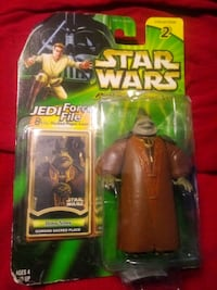 Star Wars character in original packaging over a 150 to choose from