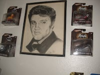 Elvis Picture One of A kind 1977 Thornton