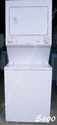 Electrolux Stacked Washer Electric Dryer, 1 year warranty Richmond Hill