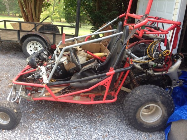 Dune Buggy With Motorcycle Engine