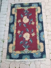 Ornamental Area Rug.