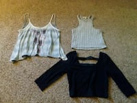 3 Crop Tops! Party, casual, classy, and every day!