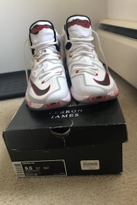 Lebron 13s Friday the 13th edition size 9.5 worn onces Burnaby, V5C 2N2