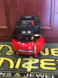 red and black Porter Cable pancake air compressor Montgomery, 36117