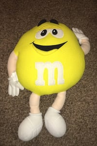 Plush M&m toy