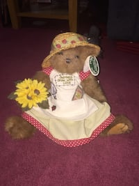 brown bear in white dress plush toy Mississauga, L5N 5P8