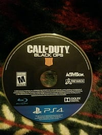 Call of Duty Black Ops 4 PS4 game disc Albuquerque, 87121