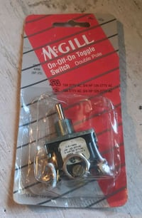 McGill On-Off Toggle Switch BNIB Calgary, T3H 1G3