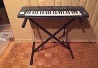 black and white electronic keyboard Vaughan, L6A 2H1