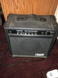 black and gray guitar amplifier Palmetto, 34221