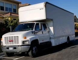 GMC C6500 ISUZU DURAMAX KODIAK moving box truck