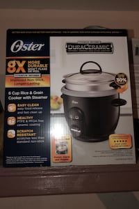 6 cup rice & grain cooker with steamer  Glendale, 91204