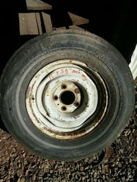 Tire and wheel , may be ok for spare Fishersville, 22939