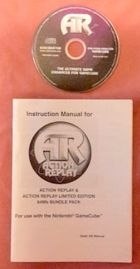 GameCube Action Replay Ultimate  Game Enhancer 61 km