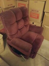 brown suede recliner sofa chair Springfield, 22153