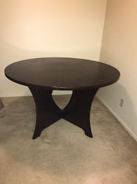 Mahogany Brown Table for sale! Located in Studio city