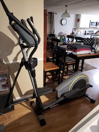 Black and gray elliptical trainer Chester, 29706
